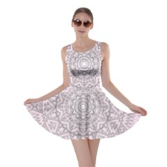 Pink Mandala art  Skater Dress