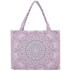Pink Mandala art  Mini Tote Bag