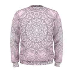 Pink Mandala art  Men s Sweatshirt