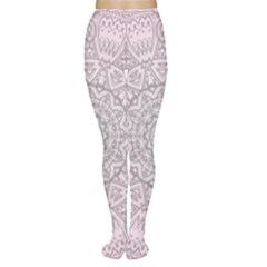 Pink Mandala art  Women s Tights