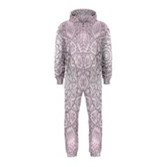 Pink Mandala art  Hooded Jumpsuit (Kids)