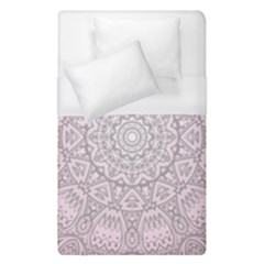 Pink Mandala art  Duvet Cover (Single Size)