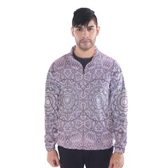 Pink Mandala art  Wind Breaker (Men)