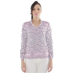 Pink Mandala art  Wind Breaker (Women)