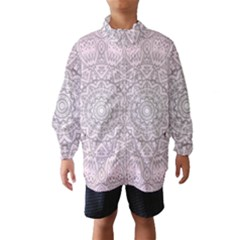 Pink Mandala art  Wind Breaker (Kids)