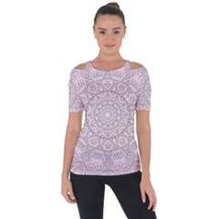 Pink Mandala art  Short Sleeve Top