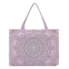 Pink Mandala art  Medium Tote Bag