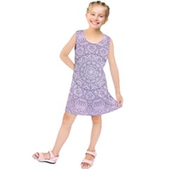Pink Mandala art  Kids  Tunic Dress
