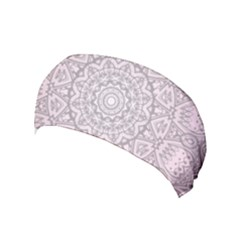Pink Mandala art  Yoga Headband