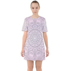 Pink Mandala art  Mini Dress