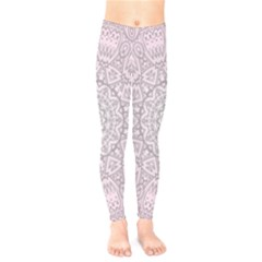 Pink Mandala art  Kids  Legging