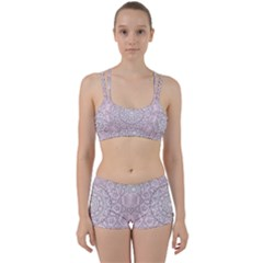 Pink Mandala art  Women s Sports Set
