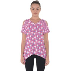 Cute Cats Iii Cut Out Side Drop Tee