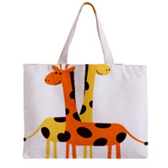 Giraffe Africa Safari Wildlife Medium Tote Bag