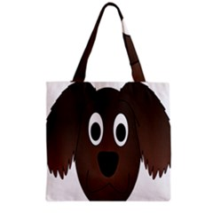 Dog Pup Animal Canine Brown Pet Grocery Tote Bag by Nexatart