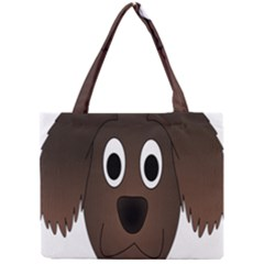 Dog Pup Animal Canine Brown Pet Mini Tote Bag by Nexatart
