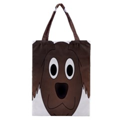 Dog Pup Animal Canine Brown Pet Classic Tote Bag by Nexatart