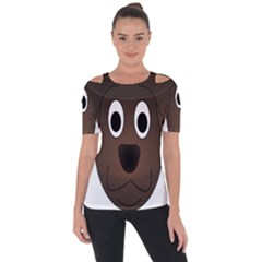 Dog Pup Animal Canine Brown Pet Short Sleeve Top