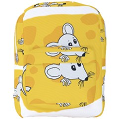 Rat Mouse Cheese Animal Mammal Full Print Backpack