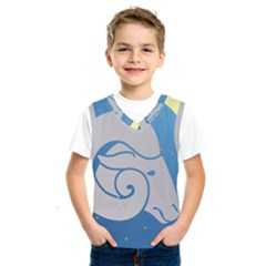 Ram Zodiac Sign Zodiac Moon Star Kids  Sportswear
