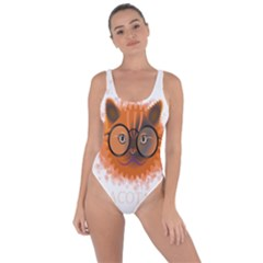 Cat Smart Design Pet Cute Animal Bring Sexy Back Swimsuit
