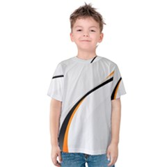 Gallery For  Abstract White Kids  Cotton Tee by amphoto