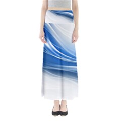 Line Light Strip Background 47114 3840x2400 Full Length Maxi Skirt by amphoto