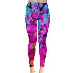Colorful Community Glare Bright  Leggings  by amphoto