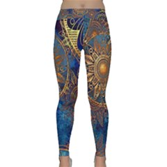 Abstract Pattern R 24 Resize Classic Yoga Leggings by amphoto
