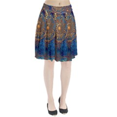 Abstract Pattern R 24 Resize Pleated Skirt by amphoto