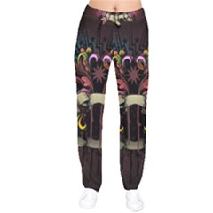 Design Drawing Colorful Creative  Drawstring Pants by amphoto