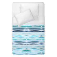 Watercolor Blue Abstract Summer Pattern Duvet Cover (single Size) by TastefulDesigns