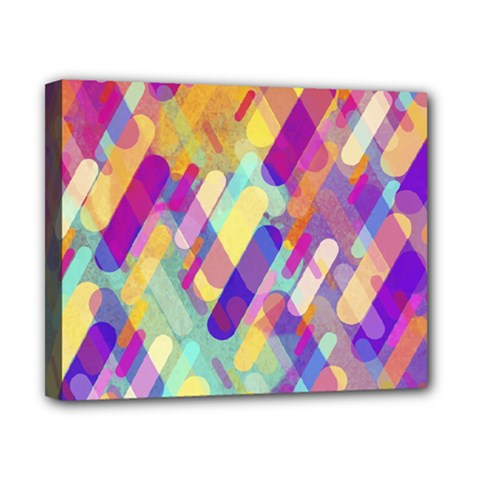 Colorful Abstract Background Canvas 10  X 8