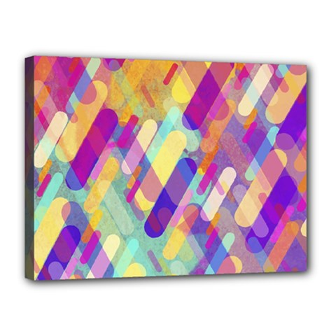 Colorful Abstract Background Canvas 16  X 12  by TastefulDesigns