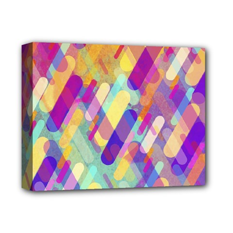 Colorful Abstract Background Deluxe Canvas 14  X 11  by TastefulDesigns