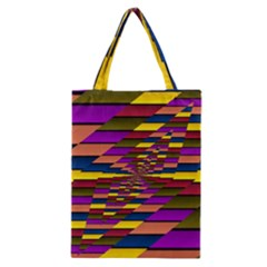 Autumn Check Classic Tote Bag by designworld65