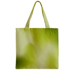 Green Soft Springtime Gradient Grocery Tote Bag by designworld65