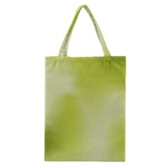 Green Soft Springtime Gradient Classic Tote Bag