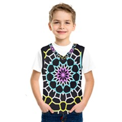 Colored Window Mandala Kids  Sportswear by designworld65