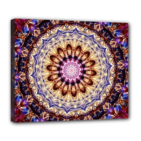 Dreamy Mandala Deluxe Canvas 24  X 20   by designworld65