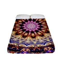 Dreamy Mandala Fitted Sheet (full/ Double Size) by designworld65