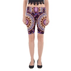 Dreamy Mandala Yoga Cropped Leggings