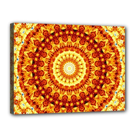Powerful Love Mandala Canvas 16  X 12