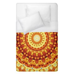 Powerful Love Mandala Duvet Cover (single Size) by designworld65