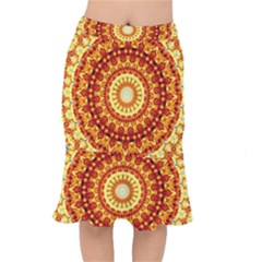 Powerful Love Mandala Mermaid Skirt