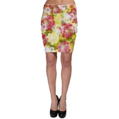 Flower Power Bodycon Skirt by designworld65