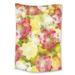 Flower Power Large Tapestry by designworld65