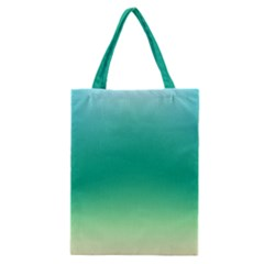Sealife Green Gradient Classic Tote Bag by designworld65