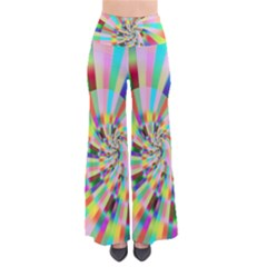 Irritation Funny Crazy Stripes Spiral Pants by designworld65