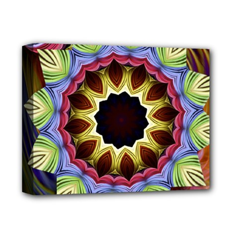 Love Energy Mandala Deluxe Canvas 14  X 11  by designworld65